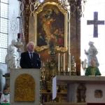 Katholischer Gottesdienst in St. Vitus mit Prälat Redies und Pfr. Link