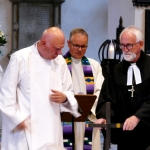 Prof. Denaux, Pfr. Hohmann, Bischof Johannesdotter